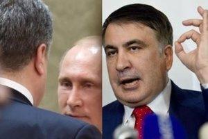 О чем говорил Порошенко с Путиным и как Саакашвили выгнали из Украины: главные новости недели