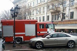 В центре Одессы пылало кафе: появились подробности