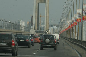 В Киеве ограничат движение по Южному мосту из-за ремонта