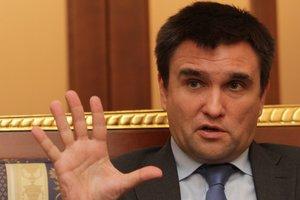 Украина готова судиться с Россией за Крым - Климкин