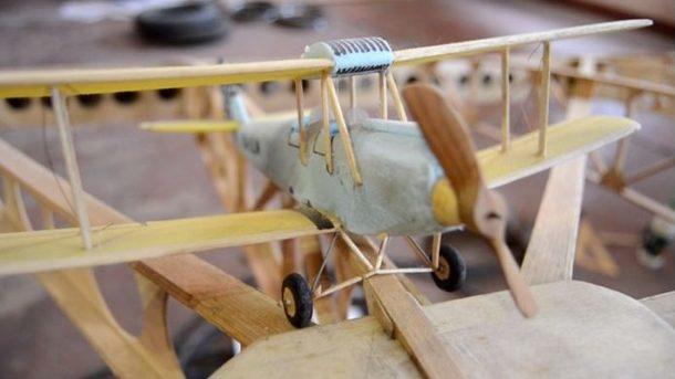 Самолет из фанеры своими руками 61