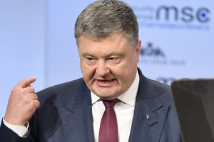 Poroshenko pleased that world recognized Russia as the source of virus attack NotPetya