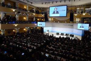 The AP said the plans Poroshenko at the Munich conference