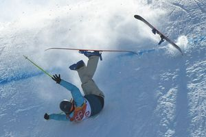 The first two places in the women's slopestyle at the Olympics took Switzerland
