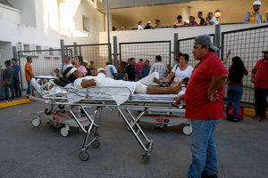 В Мексике произошло мощное землетрясение: опубликованы фото