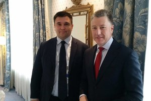 In Munich Klimkin with Volker discussed the situation in the Donbass