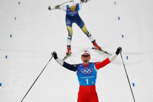 Norway won the women's relay race in cross-country skiing at the Olympics