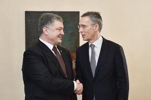Poroshenko met with NATO Secretary General