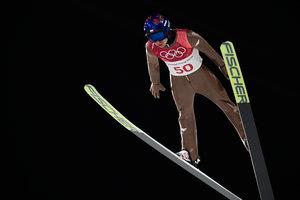 Польский прыгун с трамплина выиграл третью золотую Олимпийскую медаль
