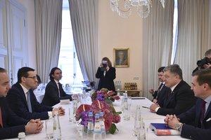 Порошенко обсудил с премьер-министром Польши укрепление сотрудничества в оборонной сфере