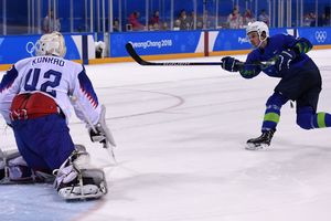 Slovenia in shootouts beat Slovakia in the Olympics 2018