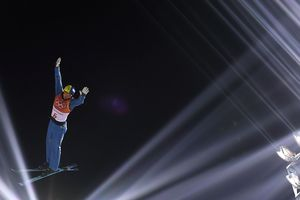 Ukrainian Abramenko is third after the first attempt in the final ski acrobatics at the Olympics in 2018