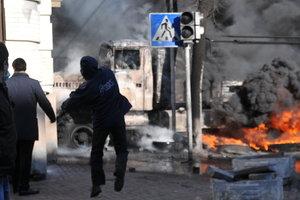 """""""Шла стена огня, за ней стреляли, и шел """"Беркут"""" – фотограф вспомнил 18 февраля 2014 года на Майдане"""