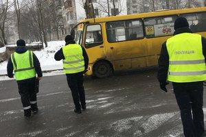 В Киеве ужесточились проверки маршруток из-за массы аварий