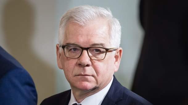 Руководитель МИД Польши: Российская Федерация - агрессор, санкции необходимо сохранить
