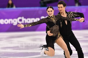 Virtu and moir set a world record in figure skating Ukrainian pair stopped the fight for medals