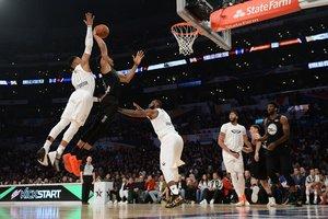 Матч звезд НБА завершился со счетом 148:145