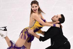 Выступление украинской танцевальной пары на Олимпиаде в фотографиях