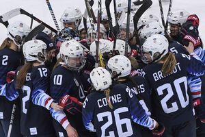 Американские хоккеистки вышли в финал Олимпиады в Пхенчхане