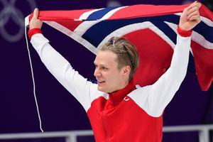 "25-летний норвежец установил олимпийский рекорд и взял ""золото"""