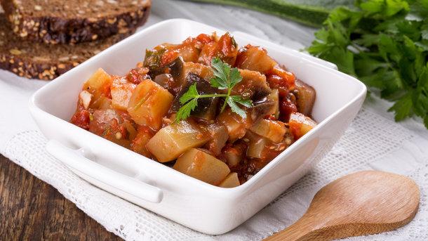 Овощное рагу диетическое без мяса — 6