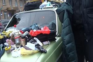 In Kiev have detained autothieves three-drug