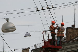 New lights in Kiev: where and how much money will spend
