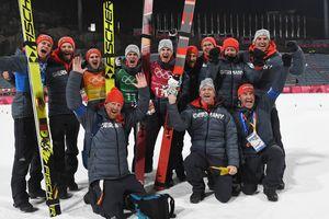 """Норвегия выиграла """"золото"""" командных прыжков с трамплина на Олимпиаде-2018"""