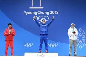 Для призеров Олимпиады-2018 устраивают шоу дронов