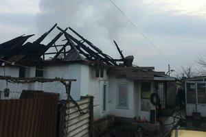 В Запорожской области мужчина заживо сгорел в собственном доме