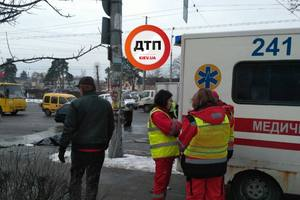 In Kiev there was a fatal accident