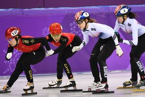Korea won the relay in short track on Olimpiade-2018