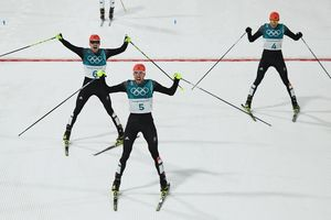 The Germans occupied the entire podium in Nordic combined, a Ukrainian beekeeper 23rd