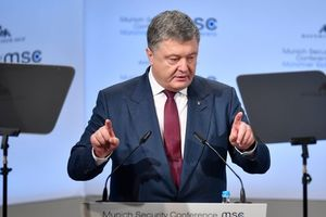 Poroshenko: Ukraine is fighting for the UN peacekeeping mission in the Donbass