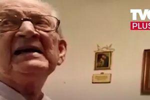 Забавное видео: дедушка очень удивился, узнав, сколько ему лет