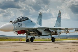 Российская авиация на учениях бомбила наземные цели на крымском полигоне