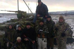 Российский танк Т-72 заскочил на блокпост, но был подбит гранатами: воспоминания о боях за Дебальцево