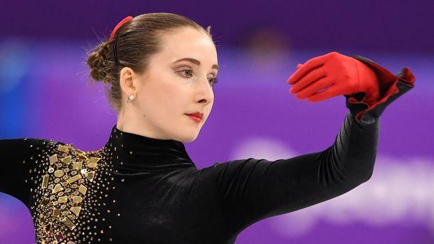 Анна Хныченкова. Фото AFP