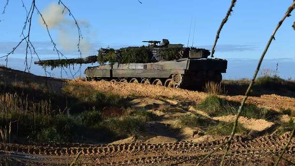Военным Германии нехватает обмундирования для учений сНАТО