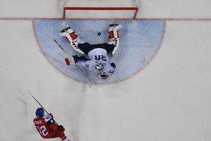 The Czechs in the shootout were team USA hockey at the Olympics