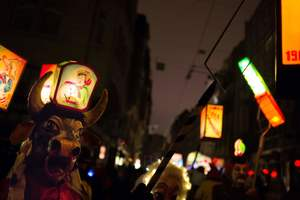 In Basel started the biggest carnival in Switzerland