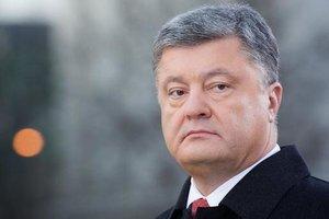 Poroshenko said the Turchynov became acting President in 2014