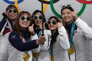 Медальный зачет Олимпиады-2018 на 21 февраля