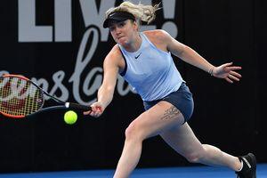 Svitolina reached the quarter-finals of the prestigious tournament in Dubai