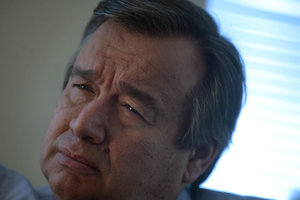 The UN Secretary General called for an end to