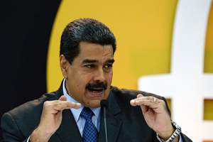 Maduro announced the release of a new cryptocurrency