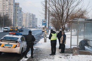In Kiev on the street suddenly died, the man