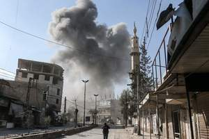 Ад в сирийской Гуте: постоянные авиаобстрелы, разрушенные дома и кучи трупов