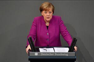 Merkel urged to stop airstrikes in Syrian ghouta