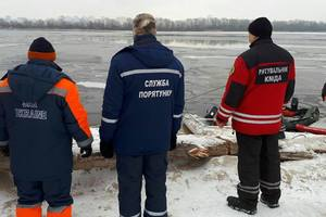 Due to frost and ice in Kiev can stop the search for missing student